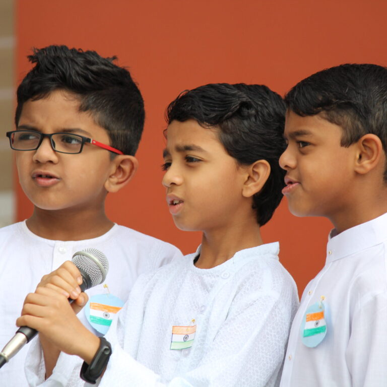 Students of International school at Bangalore