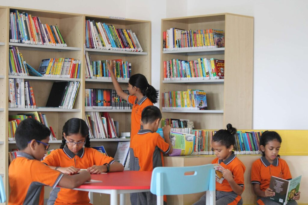 Top 10 international school in Bangalore - Library